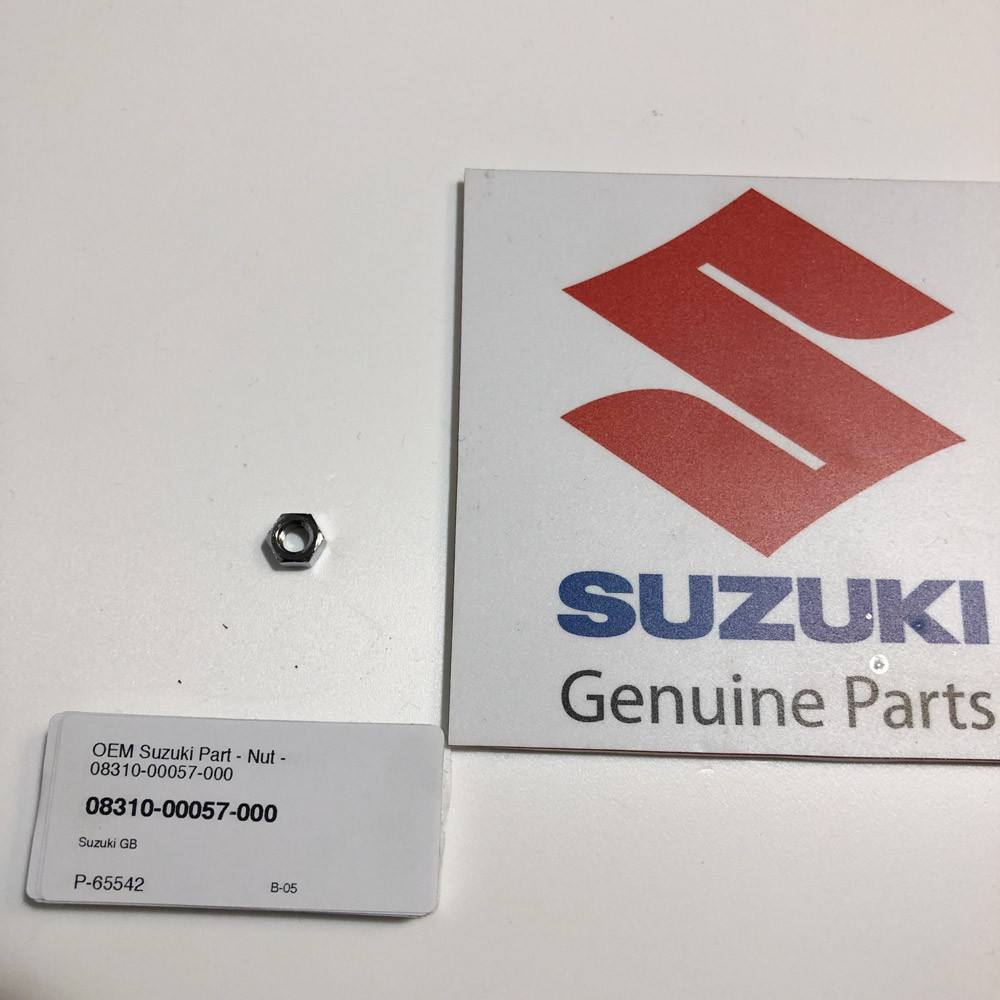 OEM Suzuki Part - Nut - 08310-00057-000
