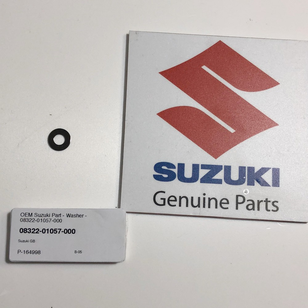 OEM Suzuki Part - Washer - 08322-01057-000