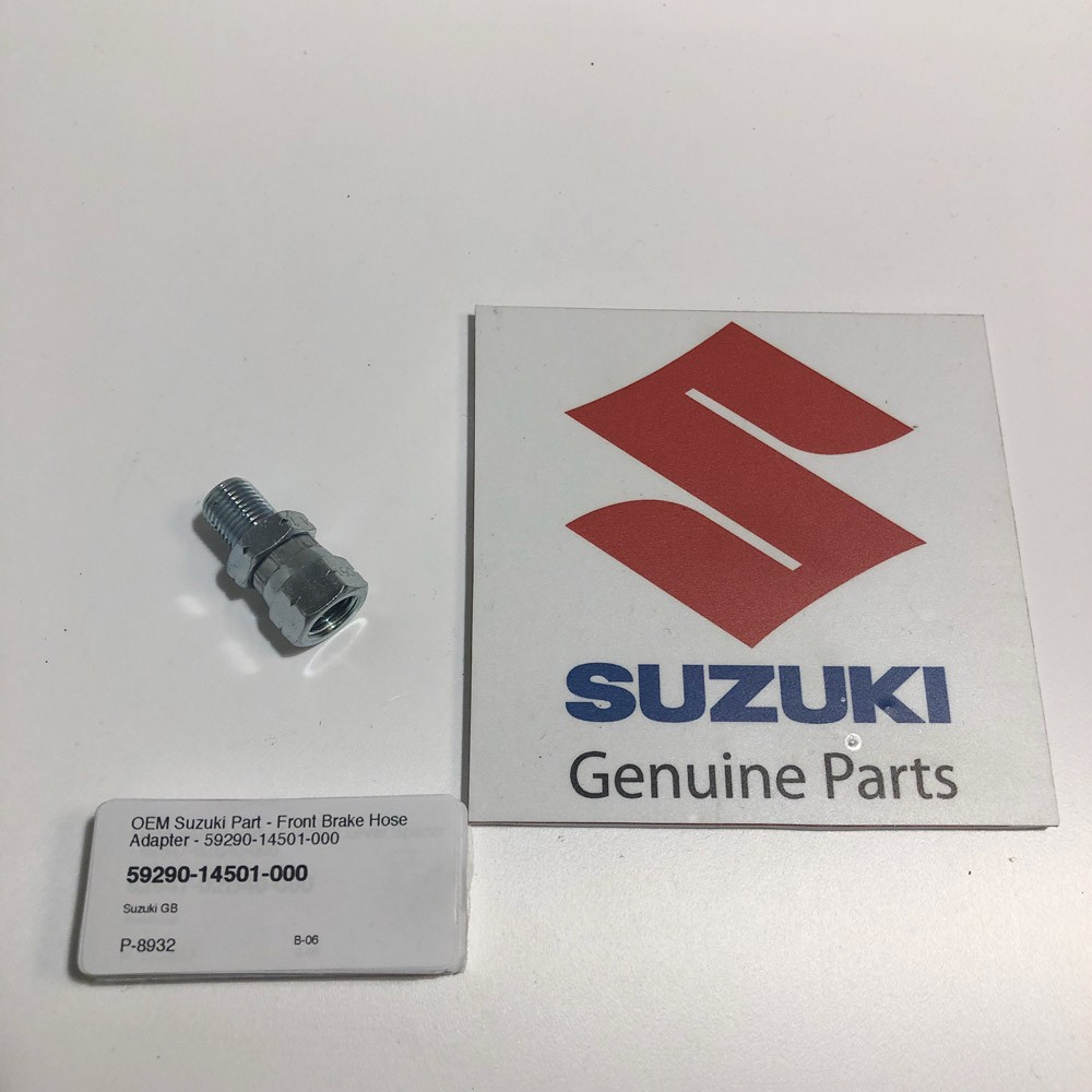 OEM Suzuki Part - Front Brake Hose Adapter - 59290-14501-000