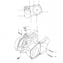Suzuki LT50 E (1984) - Engine (Crankcase Cover)