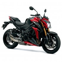 Suzuki GSX-S1000 - Black / Candy Red